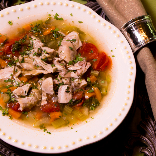 Papa's Chicken Soup