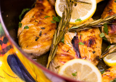 Estelle's Grilled Lemon Chicken