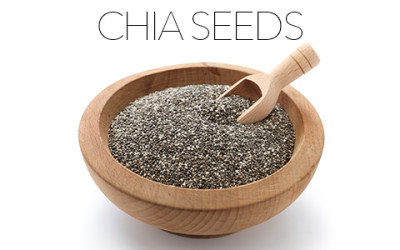 Small but Strong: Chia Seeds.